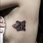 Door Hinge Graphic tattoo by Nazo