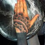 Dotwork Mandala and Blackwork tattoo sleeve