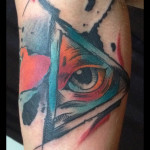 Eye of Providence tattoo by Live Two