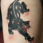 Fangs Scratches Panther tattoo by Tantrix Body Art