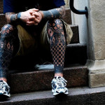 Start inking you body with leg tattoo idea.