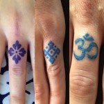 Finger Symbols tattoos