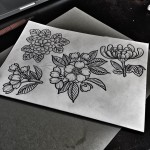 Flowers tattoo ideas by Kolahari