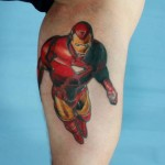 Flying Iron Man tattoo by Skin Deep Art