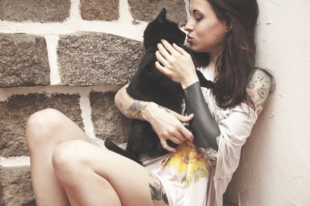 Full Black Half Sleeve Blackwork tattoo