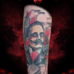 Gentleman Bomb tattoo by Hellyeah Tattoos
