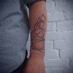 Geometry Pages Dotwork tattoo by Papanatos Tattoos