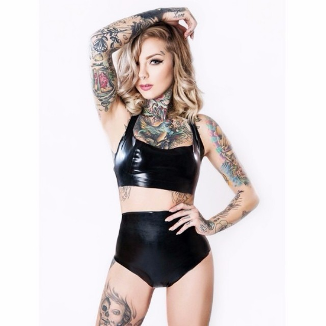 Girl tattoos Beautiful Madison Skye