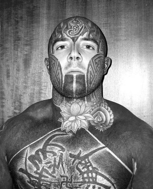 Head Neck Lotis And Full Body Blackwork Tattoo Best Tattoo Ideas
