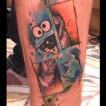 Insane Muppet tattoo by Live Two