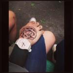 Just Black Blackwork tattoo sleeve
