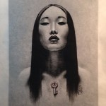 Key Heart Asian Girl tattoo idea by Jason Minauro