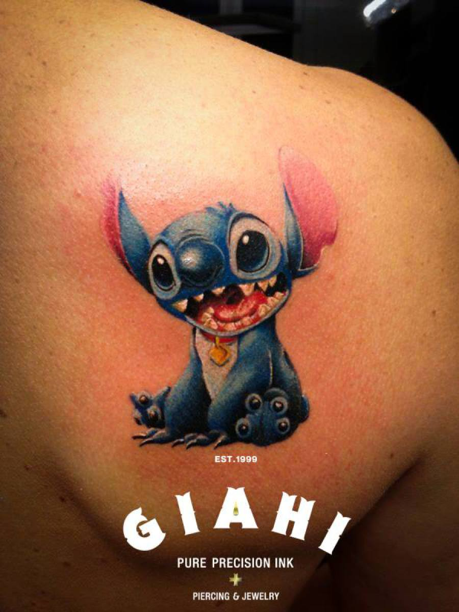 lilo and stitch tattoo by roony best tattoo ideas gallery. Black Bedroom Furniture Sets. Home Design Ideas