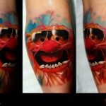 Mappet Show tattoo by Piranha Tattoo Supplies