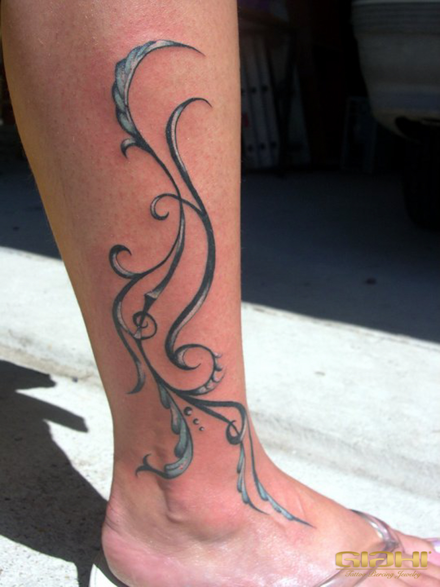 Metal Baroque Tracery tattoo by Szilard