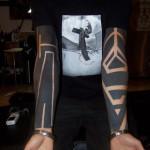 More Black Blackwork tattoo sleeves