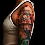 Pirate Black Sails Nautical tattoo