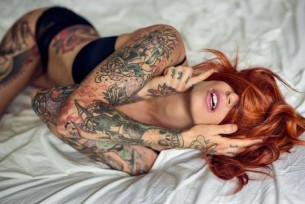 Red-haired beauty