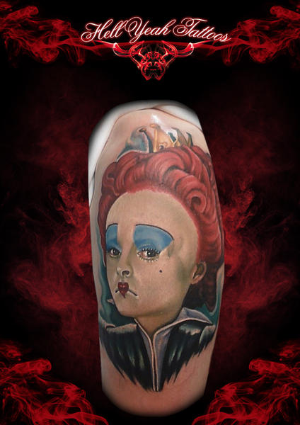 Sad Clown Realistic tattoo by Hellyeah Tattoos