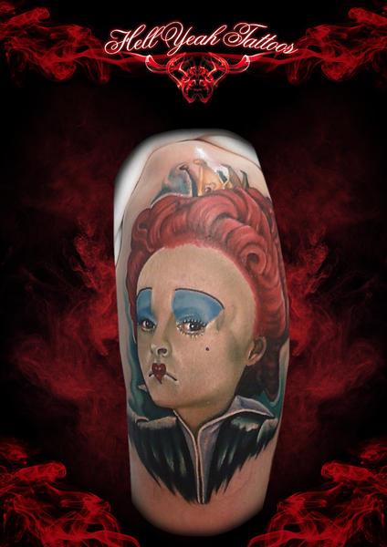 Sad Clown Realistic tattoo by Hellyeah Tattoos