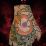 Skull Darts Aim tattoo by Hellyeah Tattoos