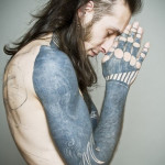 Skeleton Gloves Blackwork tattoo