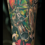 Star Wars Boba Fett tattoo by Live Two