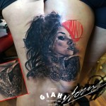 Stay Girl tattoo by George Drone