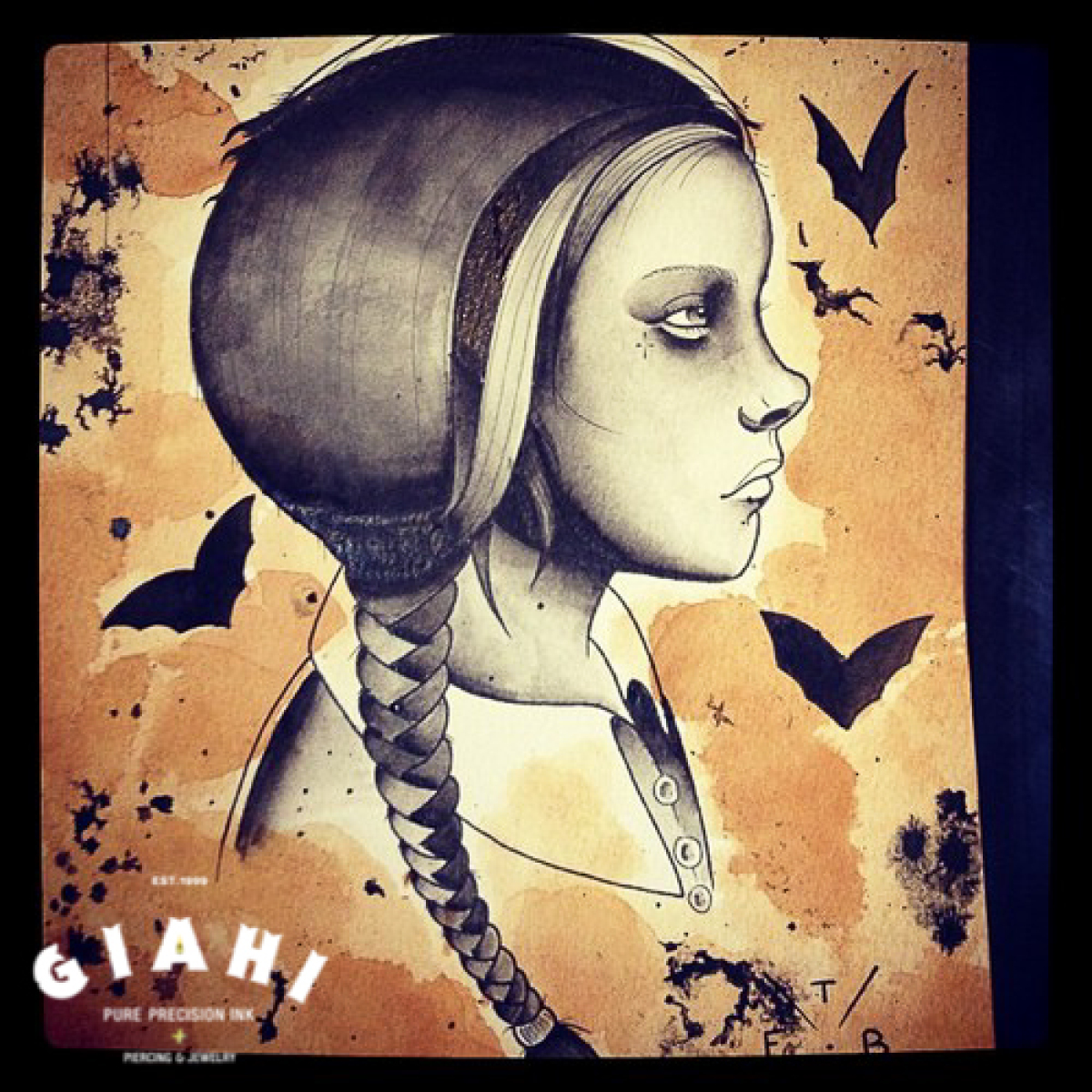 Steam Punk Girl tattoo idea by Elda Bernardes