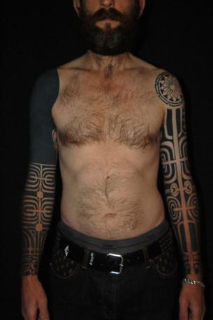 Blackwork tattoos best tattoo ideas gallery part 21 for Nipple tattoo heart