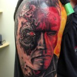 Terminator tattoo by Tantrix Body Art