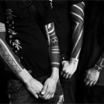 Three Guys One Style Blackwork tattoo sleeves