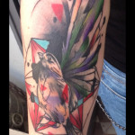 Trash Polka Sparrow tattoo by Live Two