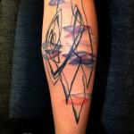 Water Lilies tattoo by Petra Hlavàckovà