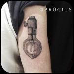 Arm Bulb tattoo