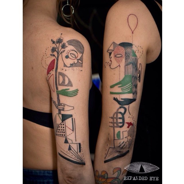 Creative Sisters tattoo