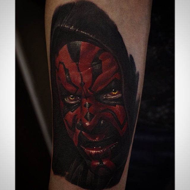 Darth Maul on Arm