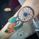 Dream Catcher on Arm