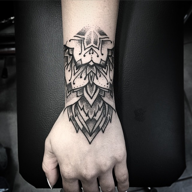 Hand Mandala Wrist Tatto Best Tattoo Ideas Gallery