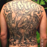 Hiphop Backpiece