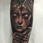 Know Your Fate Arm tattoo