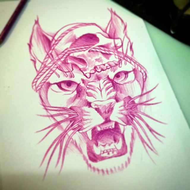 Pirate Cat tattoo idea