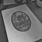 Pond Willow Tree tattoo idea