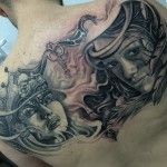 Queen and Warrior Girls tattoo by Tattoo Dejan Slovenia