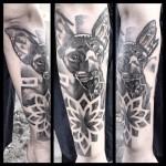 Sphynx Cat Arm tattoo