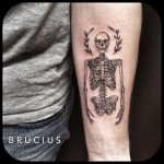 Acacia Skeleton Arm tattoo