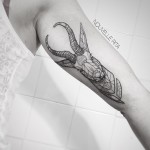 Antelope Arm tattoo