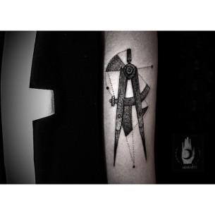 Arm Calipers tattoo