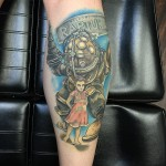 Arm Rapture Bioshock tattoo