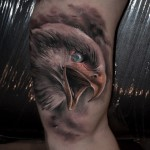 Awesome Arm Eagle Realistic tattoo